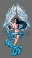 Aquarius Tattoo Design by Enchantress-LeLe