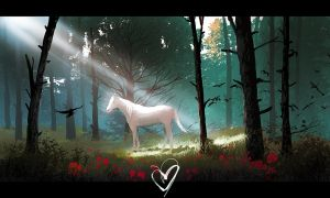 Horse in the woods by ebalint96