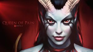 Akasha - The Queen of Pain / DOTA 2 by neonkiler99