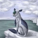 Glaceon by Caliga91