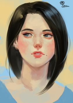 speed painting-process included by CitrusGun