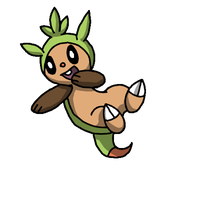 Chespin by Icevia