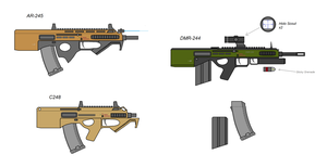 AR-203 and other models by Artmarcus