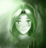 Swamp girl Speedpaint by ARTabstraction