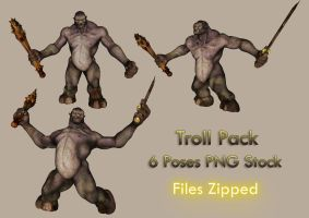 Troll Pack by Roys-Art