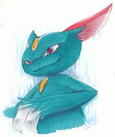 Sneasel by Dhavita