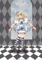 ALICE IN THE CAGE, by Rando-chan