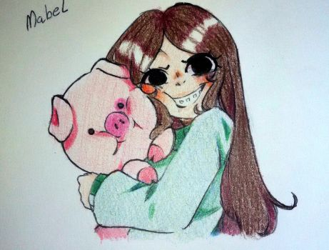 Mabel (Traditional Sketch) by Linmie