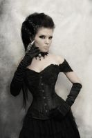 Beautiful Lace Corset by Wyxina