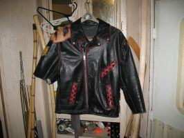MFP raider jacket WIP by emptysamurai