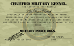 Certified military kennel by swankie