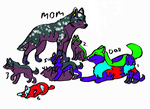 Wolf adopts-OPEN-Extremely low prices!!! by ButtonsTheCat-Adopts