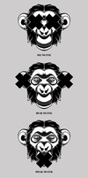 See no Evil, Hear no Evil, Speak no Evil by hoocky