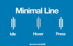 Minimal Line by Hammer-and-Nail86