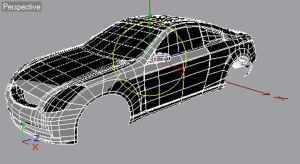 Infinity G35 WIP3 wireframe by ragingpixels