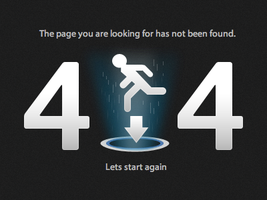 404 Page by PraX-08
