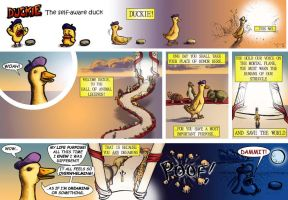 Duckie the Self Aware Duck 39 by CptMunta