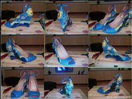Starry night shoes by ms-guppy