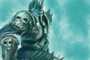 Lich King Study by Silferath
