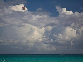 Parachute and Boat by ricardsan