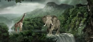Wecolme To The Jungle by marblegallery7