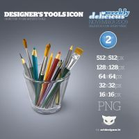 Designer's tools icon - WD2 by LazyCrazy
