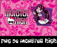 Pack png de Monster High by avrillatica