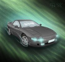 Mitsubishi 3000 GT by daftdance