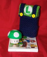 Luigi DS Case by rainbowdreamfactory