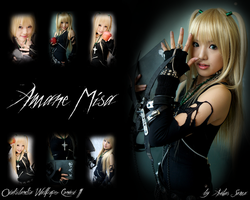 Wallpaper Amane Misa Cosplay by Arthas-Sama