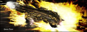 Eve Online Harbringer - Light by Ganoes-Paran
