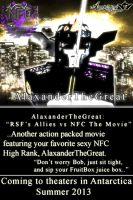 AlaxanderTheGreat Movie Poster (ROBLOX) by BCMmultimedia