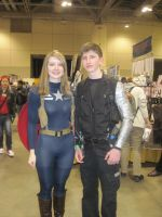 Captain American and winter soldier by JMCosplay