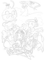 pokePARTY doodle 1 by grindzone