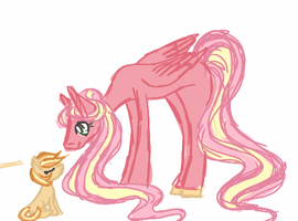 MLP Next Gen : Bramley Apple and Royal Empire by CitrusSkittles