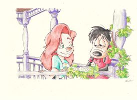 Max Goof and Roxanne by Keojo101