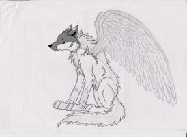 winged wolf in progress by wolf-child1995
