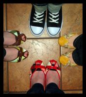 Dorks With Pretty Shoes by caybeach