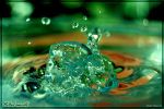 Melted emerald by Lumbule by h2o-macro