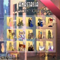 Cartoon Folder Icons - Anastasia by EditQeens
