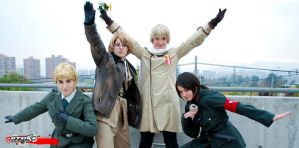 APH cosplay - Allied Forces by Rins