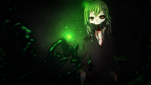 GUMI Robot Wallpaper by AwolGFX