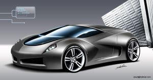 high performance car by carlexdesign