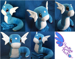 Dratini Pokemon Plush! by GuardianEarthPlush