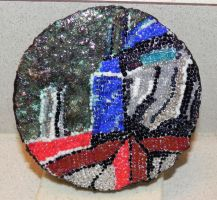 Optimus Prime mosaic by illmatar