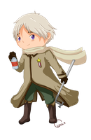Hetalia Russia by thelittleanimals