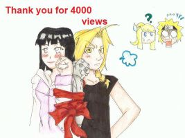 Thank ya for 4000 views xD by sashimigirl92