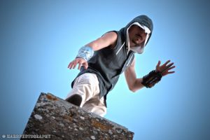 Modern Assassin's Creed: air assassination by VictorSauron