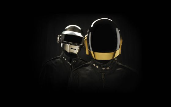 Daft Punk Wallpaper by GoblinFish