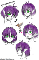 Character Design-Portraits-Natamin by The-Junior-Flow
